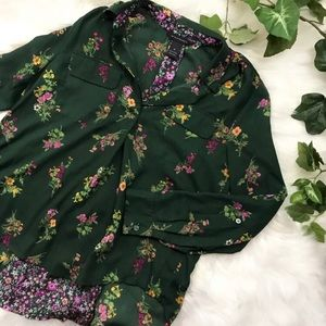 INVESTMENTS Spring Floral Blouse